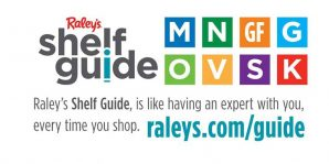 Raley's shelf guide promotion