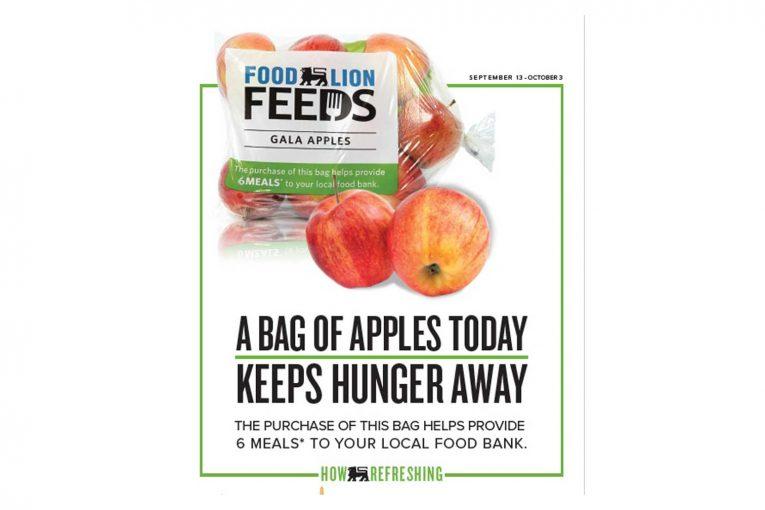 Food Lion Feeds apple campaign marketing