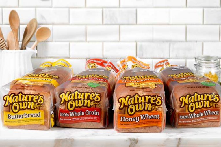 Flowers Foods Natures Own brand bread