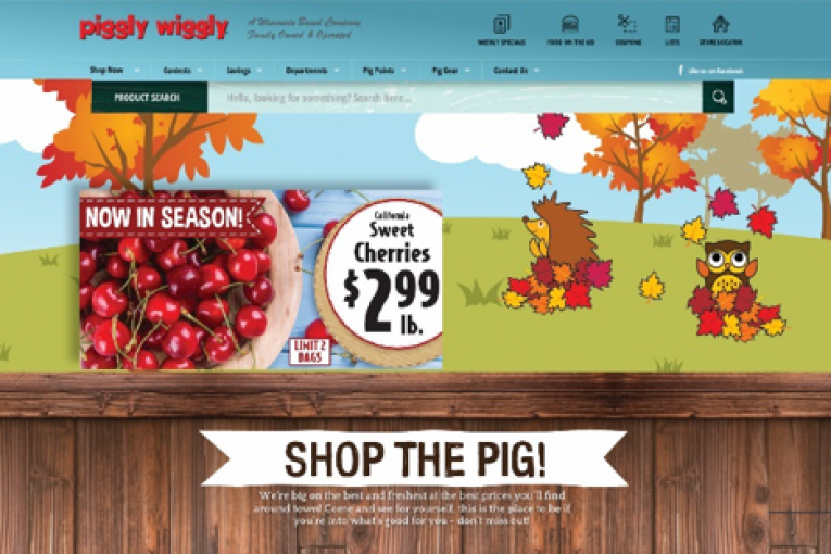 New Piggly Wiggly website