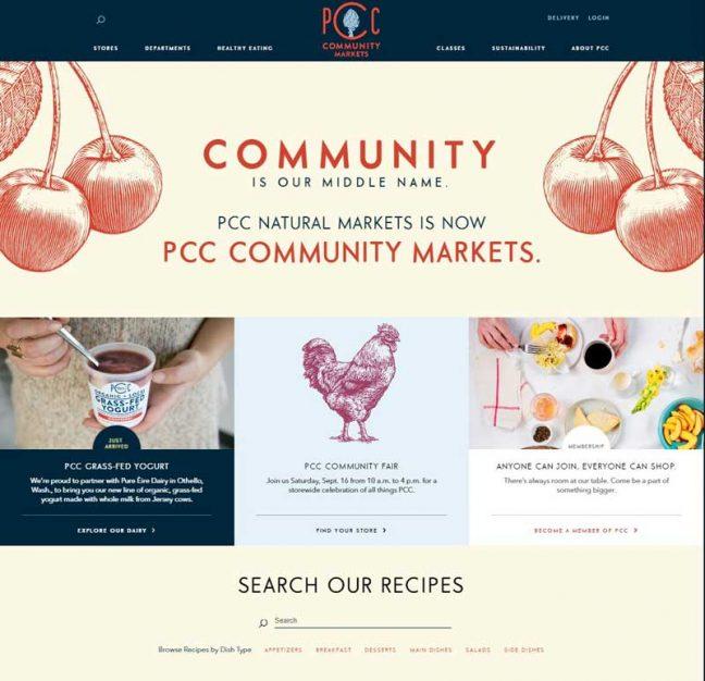 PCC's homepage