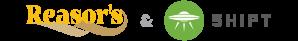 Reasor's and Shipt logos
