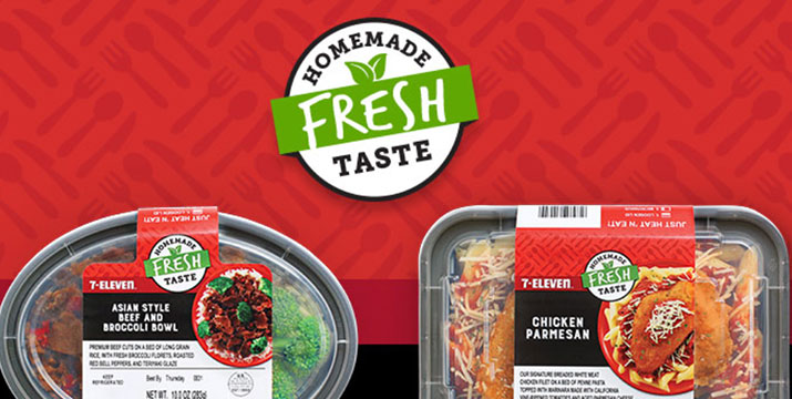 7 Eleven Expands Prepared Meals Program With 15 New Recipes