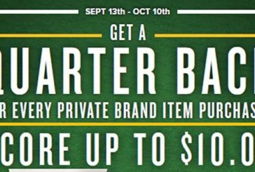 Food Lion 'Quarter Back' Promotion Offers $10 Back On Private Brands