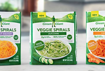 Green Giant Spiralized Frozen Vegetables Coming In 2018
