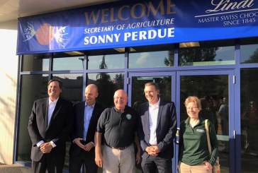Ag Secretary Perdue Tours Lindt Facility In New Hampshire