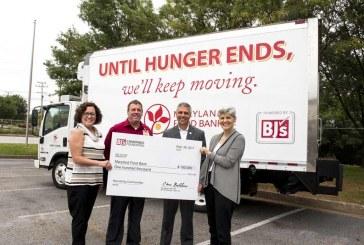 BJ's Wholesale Club Donates $100K To Maryland Food Bank