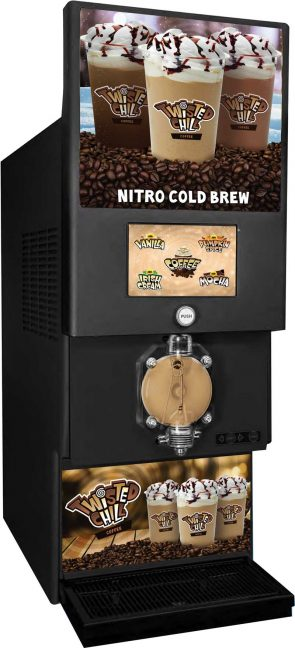 Icee Co. Twisted Chill coffee machine