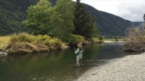 Kevin learned to fly-fish from his maternal ­grandfather.