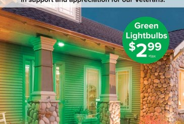 NOCO Energy Promotes 'Greenlight A Vet' For Veterans Day