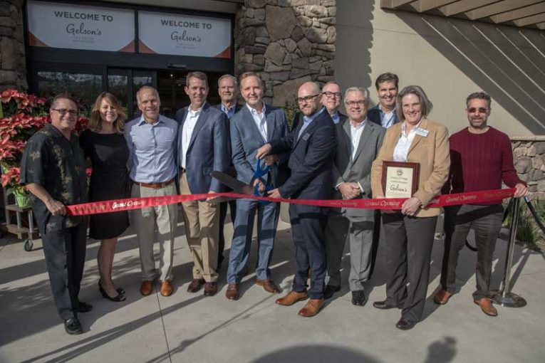 Gelson's Rancho Mission Viejo ribbon cutting.