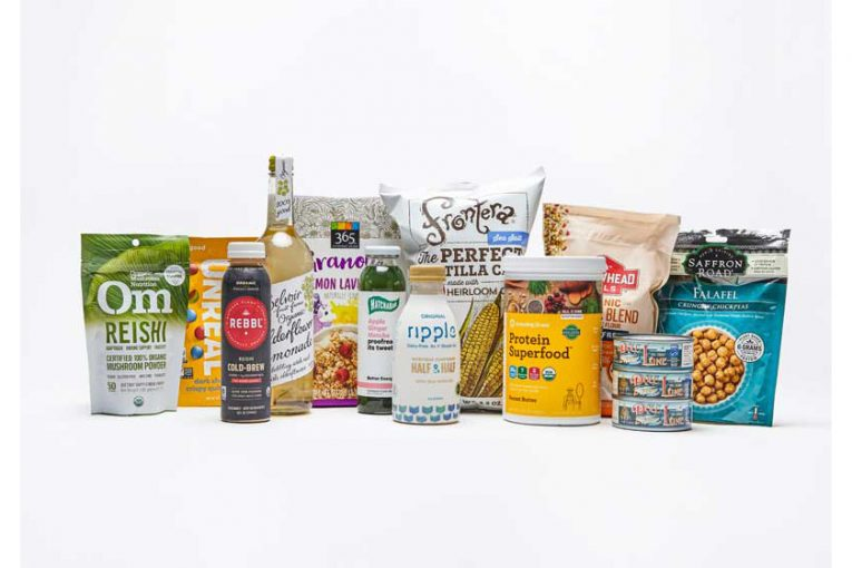 Whole Foods products that fit the trends.