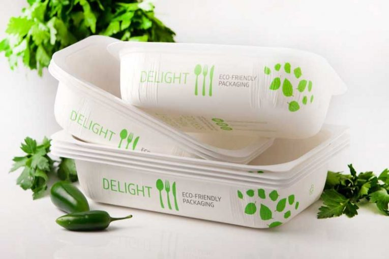 PinnPack hybrid foodservice tray
