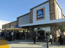 Aldi Grand Opening, La Habra, California, Jan. 18, 2018
