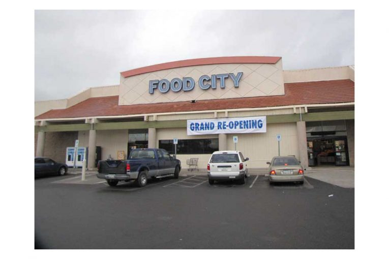 The reopened Food City store