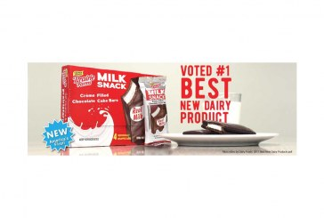 'Milk Snack' Bars Voted Dairy Foods' 2017 Best New Dairy Product