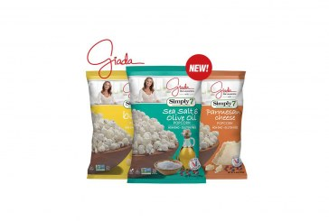 Simply7 And Celeb Chef Giada De Laurentiis Collaborate On Popcorn Line