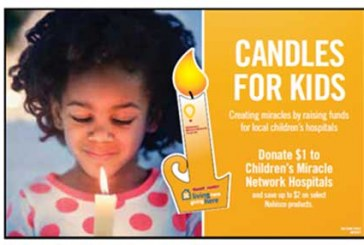 CMN Hospitals Get $700K From Giant/Martin's 'Candles For Kids' Campaign