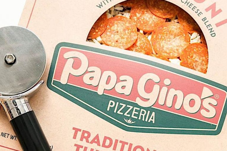 frozen pizza-Papa Gino's