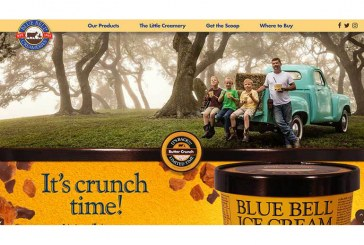 Blue Bell Launches Redesigned Website Now Featuring Store Locator