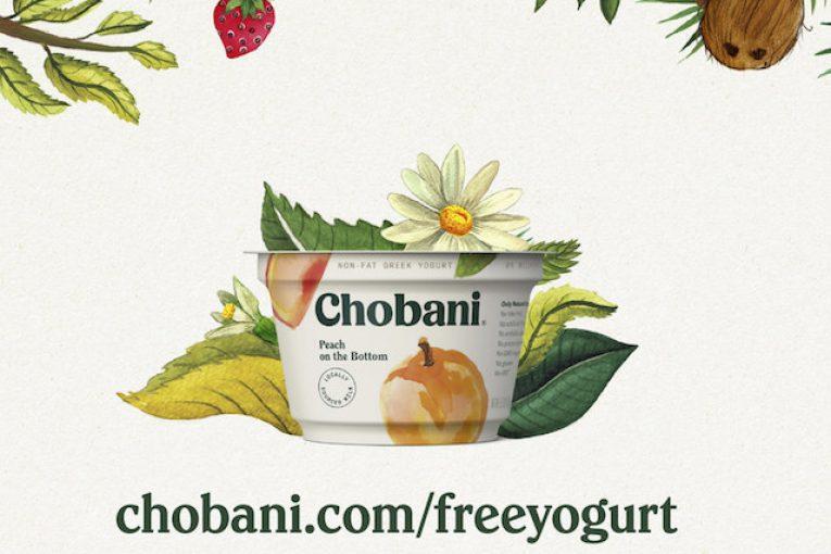 Chobani free yogurt