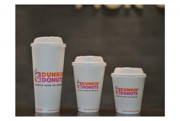 Dunkin' Donuts To Eliminate Foam Coffee Cups By 2020
