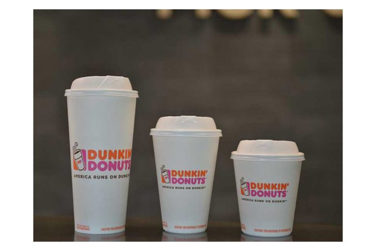 Dunkin' Donuts' new paper cups