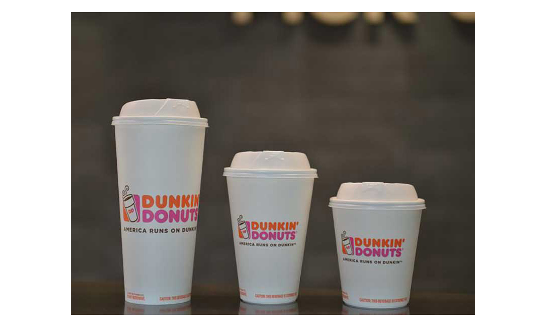 09c1f179494 Dunkin' Donuts To Eliminate Foam Coffee Cups By 2020