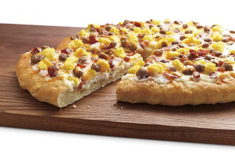 7-Eleven's breakfast pizza