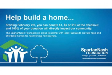 SpartanNash Foundation Raising Money For 50+ Habitat For Humanity Partners