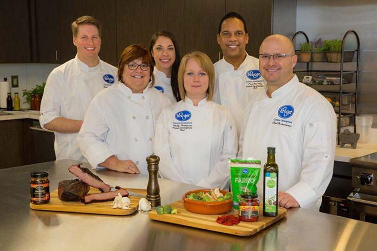 Kroger Culinary Innovation Center staff
