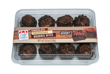 Café Valley, Hershey Launch Chocolate Cheesecake Brownie Bites