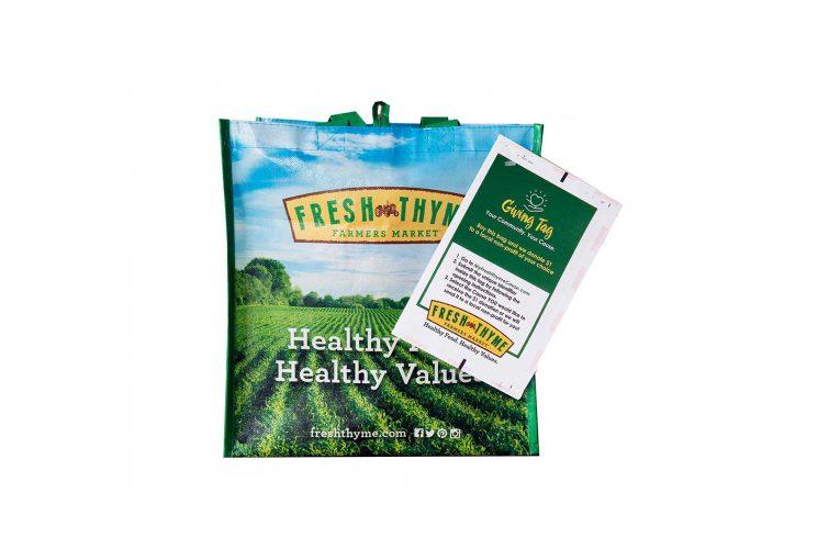 A Fresh Thyme Giving Bag