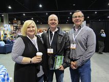 Retail Grocer Attendees, Associated Wholesale Grocers Showcase, Overland Park, Kansas, March 26-28