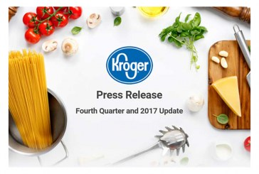 Kroger Sales Up 12.4% In 4Q, Digital Sales Up 90% For The Year