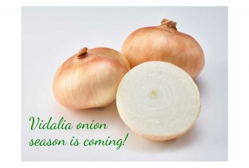 Vidalia Onions Set To Arrive In-Store After April 20