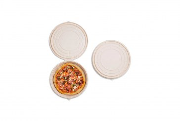 World Centric Debuts Round, Compostable Pizza Box