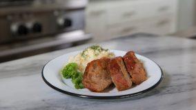 Meatloaf one step meal.