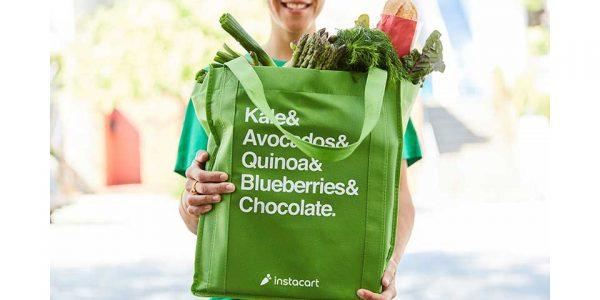 Instacart grocery bag