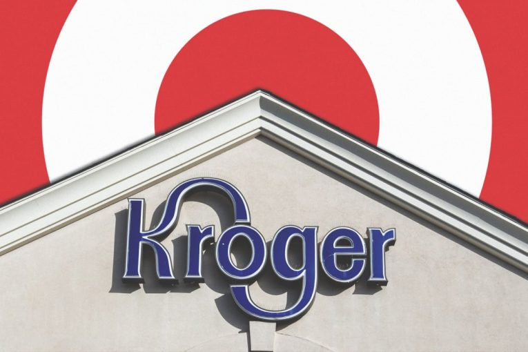 kroger target market Kroger should generate roughly $15 billion of  or roughly 25% of the current market  factset's mean analyst price target is.