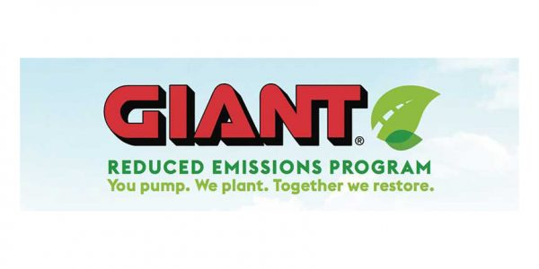 Giant reduced fuel emissions marketing