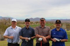 Bob Hixson, Crescent Crown Distributing; Todd Kammeyer, Fry's Food Stores; Terry Morrison and Eric Riggs, Crescent Crown.