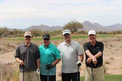 Mike Polini, AFB; Mark Miali, Sprouts; Mike Morello and John Pashea.
