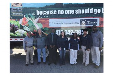 Tyson Donates Truckload Of Protein, $168K To Georgia Food Bank