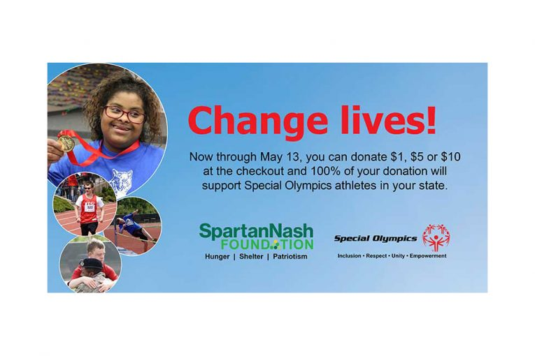 SpartanNash Special Olympics campaign promotional