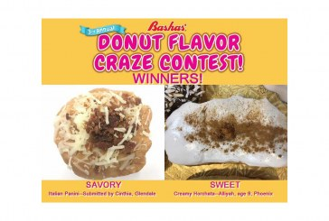 Italian Panini, Creamy Horchata Donuts Win Bashas' Flavor Craze Contest