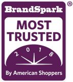 BrandSpark Most Trusted logo.