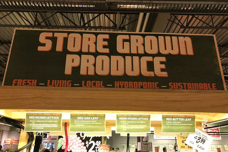 A Central Market in Dallas is testing produce grown in-store.