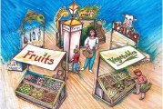 Festival Foods Fresh Market Exhibit Opens May 31 At Children's Museum