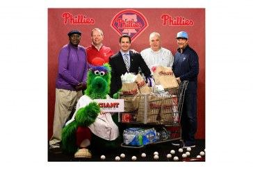 Giant Food Becomes Official Grocer Of Philadelphia Phillies